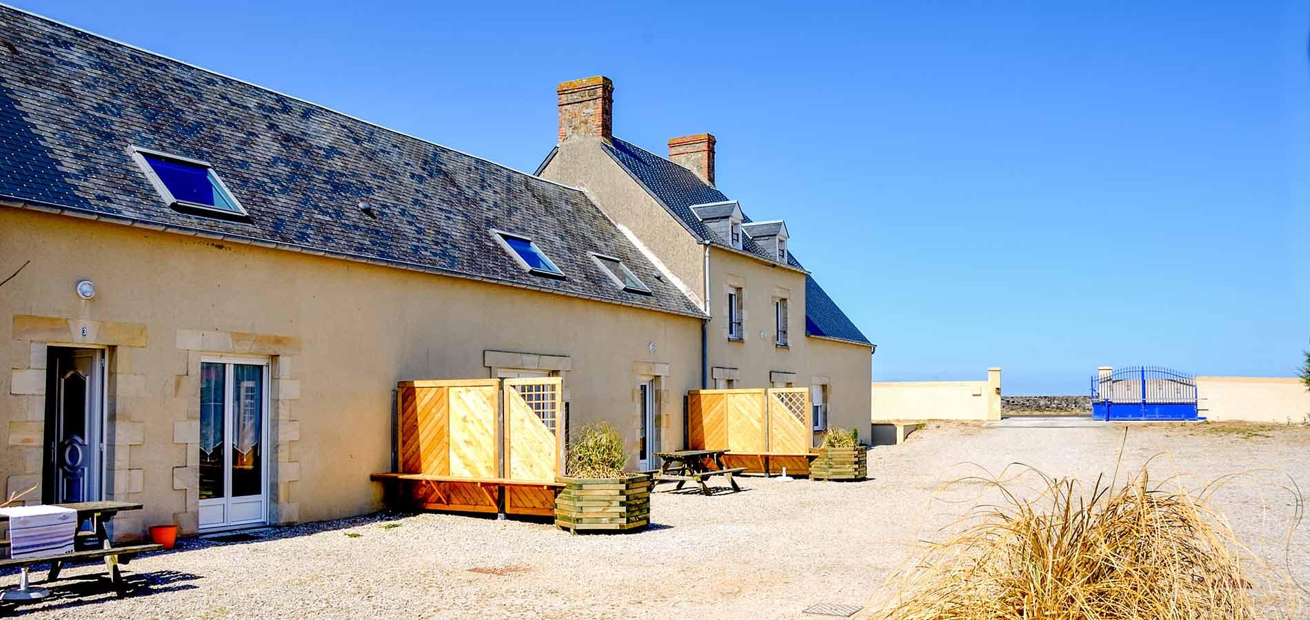 Gite normandie location gites vacances manche plage du for Location gite pas cher