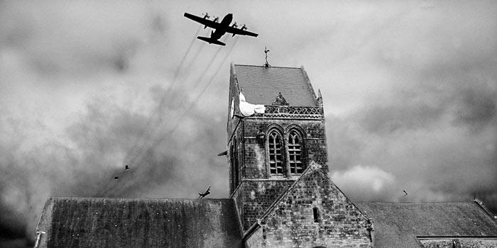 Plage débarquement Basse Normandie